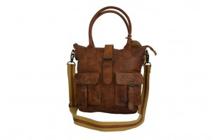 TORBA SHOPPER LANDLEDER BROWN LD312-24