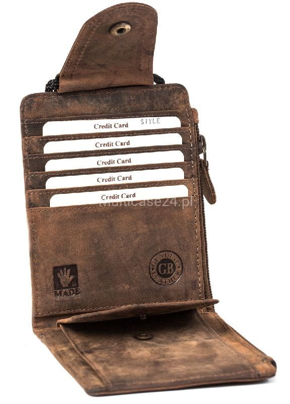 e56fadc604026 SASZETKA PORTFEL NA SZYJĘ LUB PASEK VINTAGE 324-25 Multicase Bags ...